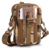 Outdoor Multi- Functional Tactical Molle Waist Pack Bag Oxfor...