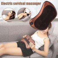 Neue Ankunft Multifunktionale Massagekissen Elektrische Massager für Nacken Zurück Taille Bein Stress Relief Körper Gesundheitswesen