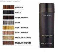 Saç Fiber Keratin Toz Sprey İnceltme Saç Kapatıcı 10 Renkler DHL Nakliye