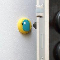 الكرتون المنزلية سيليكون مكافحة الاصطدام حصيرة جدار الباب شنقا تحطم الوسادة العازلة الحمام كتم مبطن حصيرة vtky2333