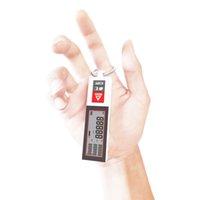 Milesey Bluetooth Laser Germfinder Portable Mini Distance Mini Mesure Mètre Compteur Chargement USB Distance de distance de laser avec bague T200603