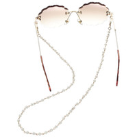 New Arrival Luxurious Eyeglasses Chains Small Artificial Pea...