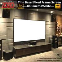 2..5:1デラックスハイエンドスクリーン4K / 8KウルトラHDRプロジェクタースクリーンアクティブ3D準備6ピース固定フレームホームシアター映画プロジェクションスクリーン