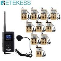 TR504 0.6W FM-передатчик + 10 шт. V112 FM-радиоприемник Беспроводной Гидик Система Руководства Система перевода церкви