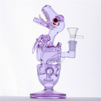 Glass Water Pipes With Showerhead Fab Dino Rig 14. 4mm Female...