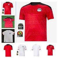 2021 Egitto M. Soccer Jersey Salah 10 Salahs Costa d'Avorio Ghana Marocco Camicia da calcio 20 21 Camicia da campo a casa e via