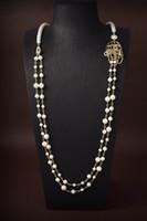 С коробкой мода марки имеют марки жемчужное дизайнерское ожерелье для леди женщин вечеринка свадебные любовники подарки участие роскошные украшения для невесты