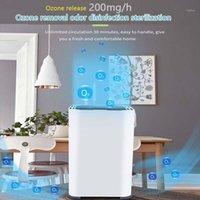 Purificador de aire portátil, generador de purificación de ozono, ambientador de aire anión, limpiador de ionizador de desodorización previene gérmenes polvo1