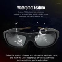 IP55 Водонепроницаемый открытый спортивный спортивные солнцезащитные очки UV400 FHD 1080P очки камеры носимые очки видео рекордер регулируемый объектив камера1
