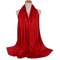 الأوشحة Shuangr أزياء المرأة عادي فقاعة الشيفون وشاح الحجاب التفاف طباعة بلون شالات عقال مسلم الحجاب الأوشحة / scarf1
