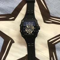 A la venta a Richard para hombre Relojes Montre Homme banda de silicona reloj del cuarzo del hombre de moda de lujo impermeable de los deportes de los hombres Reloj Reloj hombre