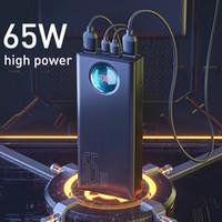 Power Bank site de ce marchand 30000mAh 65W PD Charge rapide QC3.0 Powerbank Pour Batterie externe pour ordinateur portable Chargeur pour Samsung i Phon Xiaomi