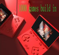 Mini 1000 Game Console Video Handheld vs 620 X7 X12 for NES games consoles KIDS gift factory outlet
