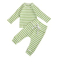 Spring Autumn Newborn Baby 2- piece Outfit Set Long Sleeve St...