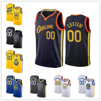 Custom Stephen 30 Curry Klay 11 Thompson GoldenEstadoJames 33 Wiseman WarriorsAndrew 22 Wiggins City Novas jerseys de basquete