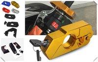 سرقة حماية دراجة نارية فرامل الفرامل القرن الثابت قفل مقبض لصق ل XV 950 متسابق TDM 900 MT-125 MT125 MT-01 V-MAX1