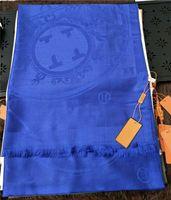Alta calidad 2021 Classic Horse Cotton Bufanda Moda Bufanda Damas Decorativa Bufanda 180 * 70 cm Estilo europeo sin caja