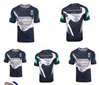 NSW Состояние происхождения 18 Элитный тренинг Tee Light Blue NSW Blues Новый Южный Уэльс Блюз регби Джетки 2018 Капитаны Holden Рубашки Размер S-XXXL