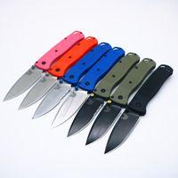 Benchmade 535 Polímero Nylon Fibra Axiss Táctico Autodefensa Plegable EDC Pocket Cuchillo Colección Camping Cuchillos Cuchillos Regalo de Navidad Juli