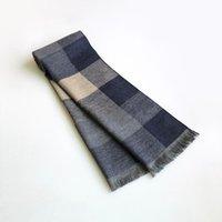 스카프 2021 클래식 남성용 겨울 격자 무늬 스카프 방풍 따뜻한 목화 shawls 부드러운 캐주얼 남자 비즈니스 스카프 1