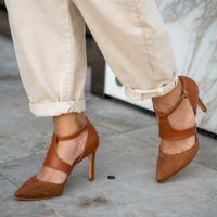 Vestido sapatos saltos negros stiletto mulheres zapato de mujer tacon mulher fina bombas rasas pontas