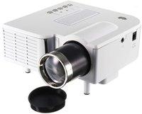 Mini-Projektor 2020 Upgrade, Jayzod UC28 + 3D 1080p Tragbare LED-Projektor-Unterstützung USB AV SD VGA für Home Cinema Theater1