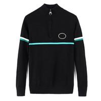 Hommes Designer Crocodile Sweater de luxe épaissie épaissie chaude glissière pull pull Pull occasionnel Marque Mens Hiver Haut de haute qualité CM2NPFEJNEU