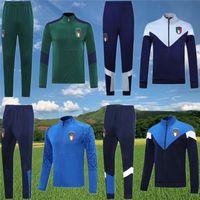 2020 2021 Belotti Jacket Training Suit Soccer 20 21 Verratti Bonucci Zaninlo Jorginho Football Survetement Sportswear مجموعة رياضية