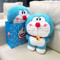 Doraemon оригинальная машина плюшевая игрушка Dingdang Cat детский творческий подарок