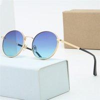 Frete grátis óculos de sol sem aro unisex preto genuíno chifre búfalo chifre óculos de sol sem aro óculos quentes Novo quadro de lente azul