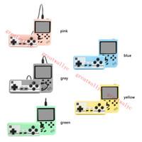 500 في 1 لعبة فتى ريترو لعبة فيديو وحدة التحكم لعبة لعبة المحمولة الجيب المحمولة وحدة التحكم 3.0 بوصة لاعب صغير محمول لبيع الهدايا للأطفال