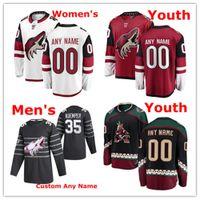 CUSTOM ARIZONA COYOTES All-Star Hockey Jerseys 67 Lawson Crouse Jersey 18 Christian Dvorak Fischer Taylor Hall Grabner