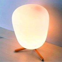 Vendita calda Ultra Moderna Mini Fashion Flash Glassato Paralume Glassato e Bracket Texture Lampada da tavolo Studio con sorgente luminosa Plug