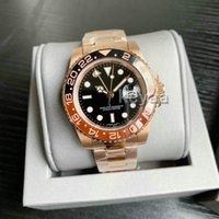 Moda Yeni GMT İzle Seramik Erkek Mekanik Paslanmaz Çelik Otomatik 2813 Hareketi Spor Batman Erkekler Saatler Luxurys Tasarımcılar Saatı