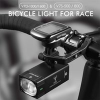 Gaciron Smart Bicycle Frontlight Bike Race Light mit Montierung Halter IPX6 USB Remote Switch MTB Road Riding LED Lampe