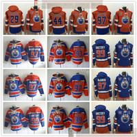 مخيط الهوكي هوديي جيرسي 97 كونور 99 وين ماكدافيد Gretzky 93 Ryan 44 زاك نوجنت هوبكينز كاسيان 29 ليون هوديس درايسيتل الفانيلة