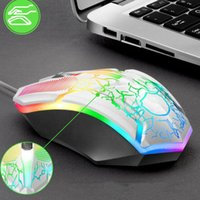 Wired Gaming Keyboard Mouse Combo Set Colorful LED Backlit C...