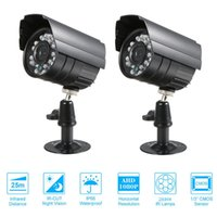 "2PCS CCTV Camera 1 3"" CMOS Color 1080P High- resolution ..."