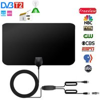 [SPOT] Antena interior Mini 4K 25dB HD TV DTV Caja Digital TV Antena 50 milla Booster HD 1080p Antena interior