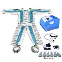 P Máquinas de Resoterapia 24 Cámaras Presión de aire Aparecedor de infrarrojos de infrarrojos Máquina de adelgazamiento Linfático Sistema de terapia de compresión Alivio Fatigu