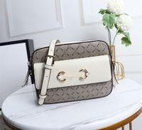 حقيبة جلد العجل جلدية مصغرة قماش قماش مساء حقيبة سيدة محفظة قابل للتعديل حزام رائعتين كاميرا الكتفين مع مربع