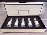 المصنع مباشرة الأزياء كولون كولون 5 قطع مجموعة للرجال أطقم العطر المحمولة طويلة الأمد رجل نبيل مجموعات أعلى رائحة 9 مل * 5