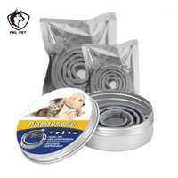 FML Pet Woll Coilian Anti Flea Ticks Mosquitoes Наружное защитное ожерелье для собак Cats Pet Socious Flea и Tick Cover1