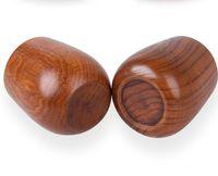 150ml / 5oz Protección ambiental Material de registro renovable Material de madera Tazas de tazas Tazas de tazas Rosas Verdes Tazas de té Café Copas de leche Leche Sea Envío CCE3977