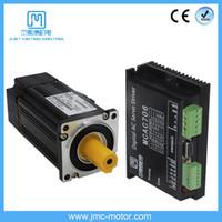 Kit driver del servomotore AC a bassa tensione JMC 400W 60VDC 1.27N.m NEMA24 1250 Linea 3000RPM 60SM400 + Driver MCAC706
