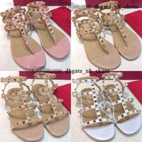 5 con scarpe scatola da donna rockstud 35 EUR Thong tacchi alti tacchi di lusso infradito di lusso sandali designer Sliders Size US 41 Donne Slifts Slift