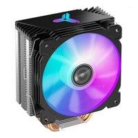 Jonsbo Cr1000 CPU Compleder Fan 4 Tuyaux thermiques Tour Argb Tour 4Pin Cépage de refroidissement CPU pour Intel LGA 1150/1151/1155/1156 AMD AM2 AM3 AM41