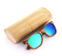 women custom polarized fashion brand colorful wood frame che...