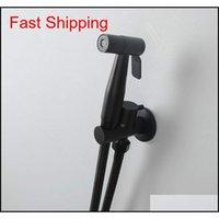 Wandmontiertes Badezimmer-Bidet-Wasserhahn-Kit. Einzelne kaltes Handheld-Bidet-Sprayer-Flow einstellbar Duschkopf 1.5 QyLZZK-Spielzeug2010