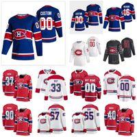 Montreal Canadiens 2021 Reverse Retro Jersey Ouellet Xavier Petry Jeff Poehling Ryan prezzo Carey Primeau Cayden Cucito personalizzato